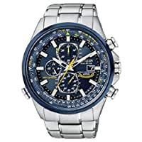 Citizen シチズン シチズン Men's AT8020-54L Eco-Drive Blue Angels World Chronograph クロノグラフ A-T Watch 男性用 メンズ 腕時計 【並行輸入】