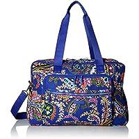 Vera Bradley Womens 22284 Iconic Deluxe Weekender Travel Bag - Signature