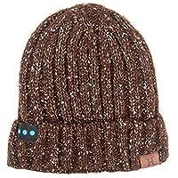Bluetooth Beanie Cap答え電話音楽ヘッドフォンワイヤレスヘッドセット技術贈り物のための帽子女性の女の子の男の子