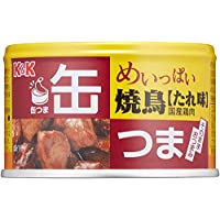 K&K 缶つま めいっぱい 焼鳥 たれ 135g