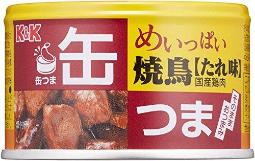 缶つま めいっぱい焼鳥 たれ味 135g