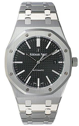 (オーデマ・ピゲ) AUDEMARS PIGUET 腕時計 ロイヤルオーク 15400ST.OO.1220ST.01 ブラック メンズ [並行輸入品]