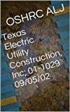 Texas Electric Utility Construction, Inc; 01-1029  09/05/02 (English Edition)