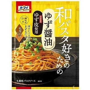 オーマイ 和パスタ好きのための ゆず醤油 24.7g×2食
