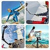 GoPro 3Way 自撮り棒 防水 hero5 hero6 hero7 アクションカメラ対応 軽量 ラバーグリップ アングル調整可能 三脚 一脚 ゴープロ セルカ棒