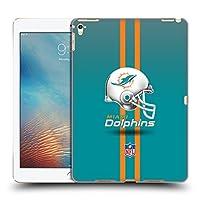 オフィシャル NFL ヘルメット マイアミ・ドルフィンズ ロゴ iPad Pro 9.7 (2016) 専用ハードバックケース