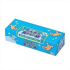 驚異の防臭袋 BOS (ボス) うんちが臭わない袋 ペット用 うんち 処理袋【袋カラー:ブルー】 (Sサイズ 200枚入)