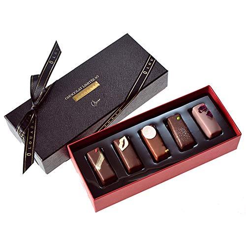 バレンタインチョコ バレンタインチョコレート チョコ チョコレート ギフト 人気 スイーツ 高級 おしゃれ 【ギモーヴショコラ 5個入り (通常)】 ルワンジュ東京