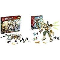 レゴ(LEGO) ニンジャゴー 究極のウルトラ・ドラゴン:アルティメルス 70679 ブロック おもちゃ 男の子 &  ニンジャゴー 巨神メカ タイタンウィング 70676 ブロック おもちゃ 男の子【セット買い】