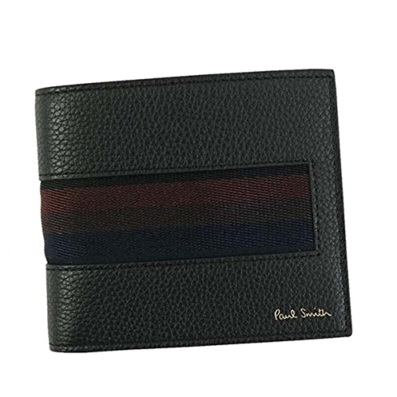 ポールスミス 財布 二つ折り財布 PAUL SMITH AUPC4832 BILLFOLD WALLET 79 BK W885 100% LEATHER 並行輸入品