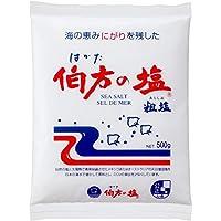 伯方の塩 粗塩500g