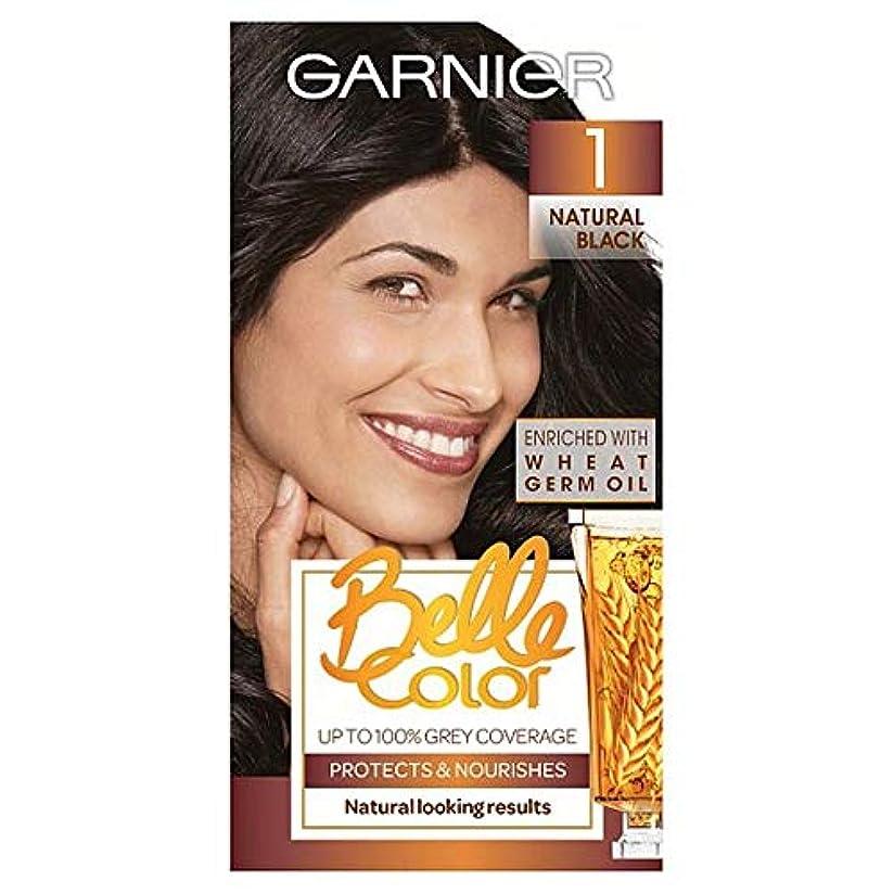 感謝祭バング唇[Belle Color ] ガーン/ベル/Clr 1黒のパーマネントヘアダイ - Garn/Bel/Clr 1 Black Permanent Hair Dye [並行輸入品]