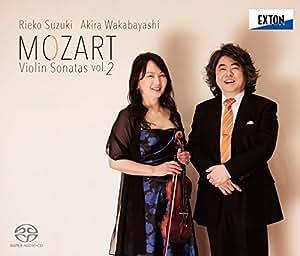 モーツァルト:ヴァイオリン・ソナタ集Vol.2