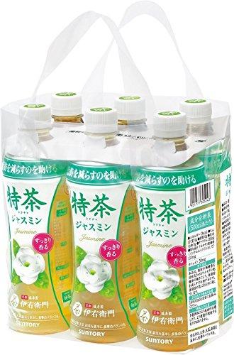 特茶 ジャスミン 手売り 6本 500ml×6本 [0308]