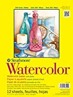 "Strathmore ((360-111 300 Series Watercolor Pad, 11""x15"", 12 Sheets [並行輸入品]"