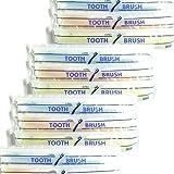 ホテルアメニティ 業務用 使い捨て(インスタント) 粉付き歯ブラシ × 1000個セット