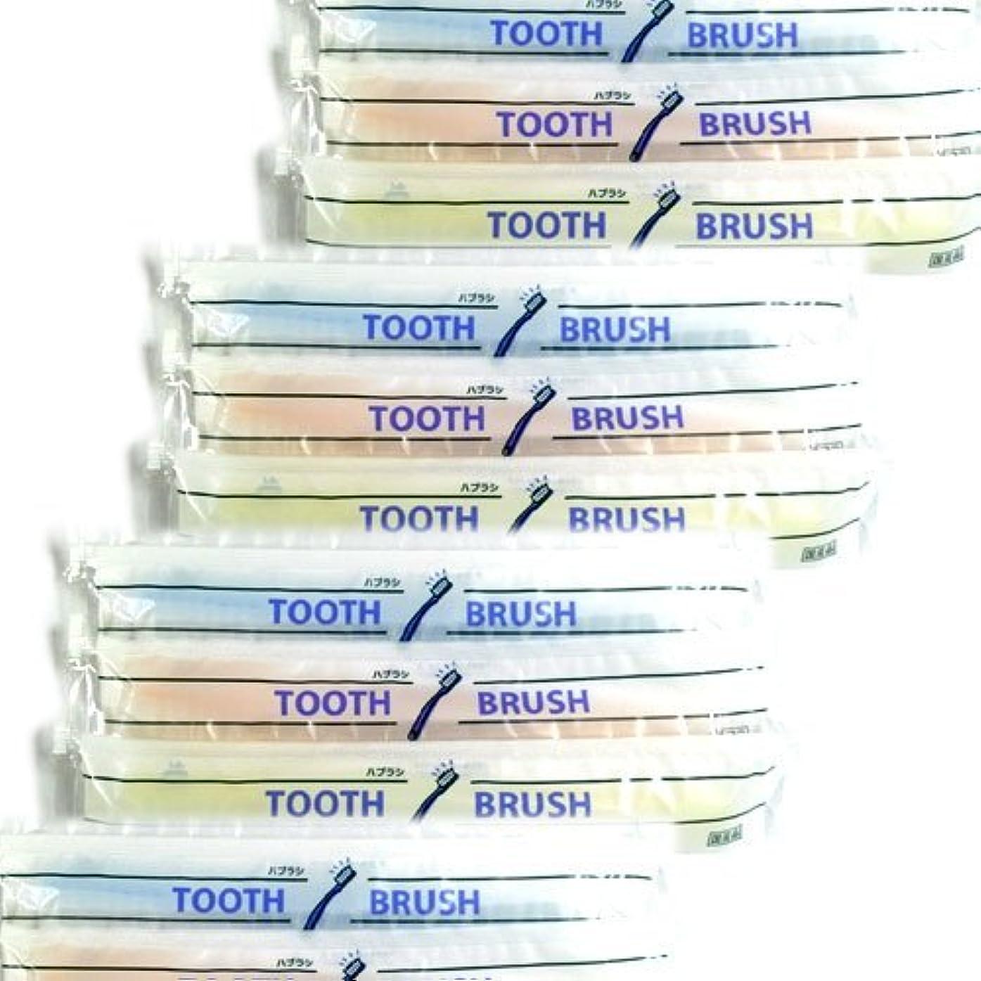 瀬戸際滅びる性交ホテルアメニティ 業務用 使い捨て(インスタント) 粉付き歯ブラシ × 20個セット
