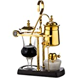 Siphon Coffee Maker, Classic and Elegant Double Column High-End Design,Belgian Luxury Royal Balance Coffee Pot