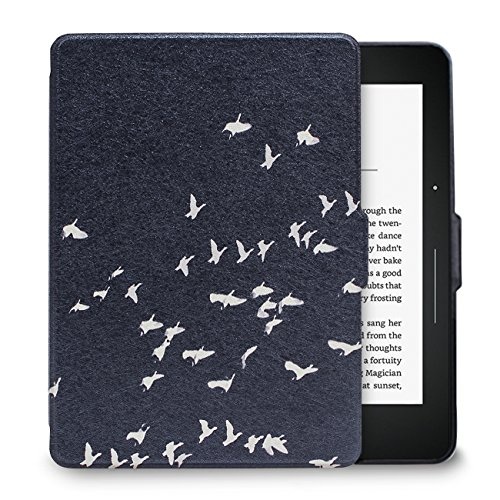 WALNEW Kindle Voyage用 レザーカバー K...