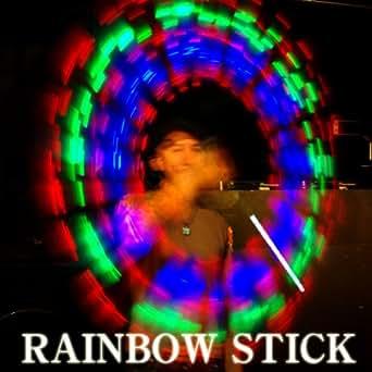 【光る棒】RAINBOW STICK【ブルー】振り回せばテンションは最高潮に!