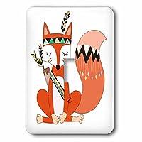 3drose LSP _ 254848_ 1Cute Tribal Fox Illustration SINGLE切り替えスイッチ