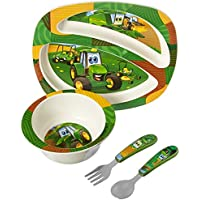 John Deere's Johnny Tractor and Friends Feeding Set 4 Pieces - LP64811 by TOMY