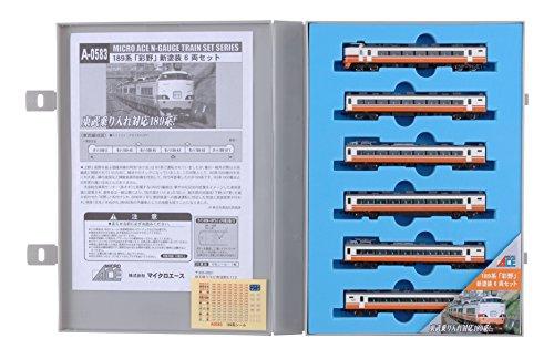 Nゲージ A0583 189系「彩野」新塗装 6両セット