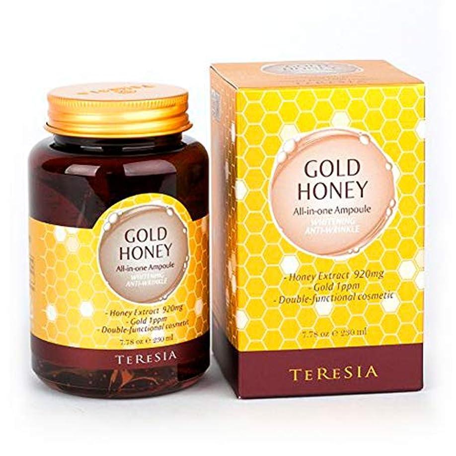 剣予定アブセイ[(テルシア)TERESIA] テルシア·ゴールドハニー大容量 230ml オールインワン·アンプル シワ,美白二重機能性化粧品