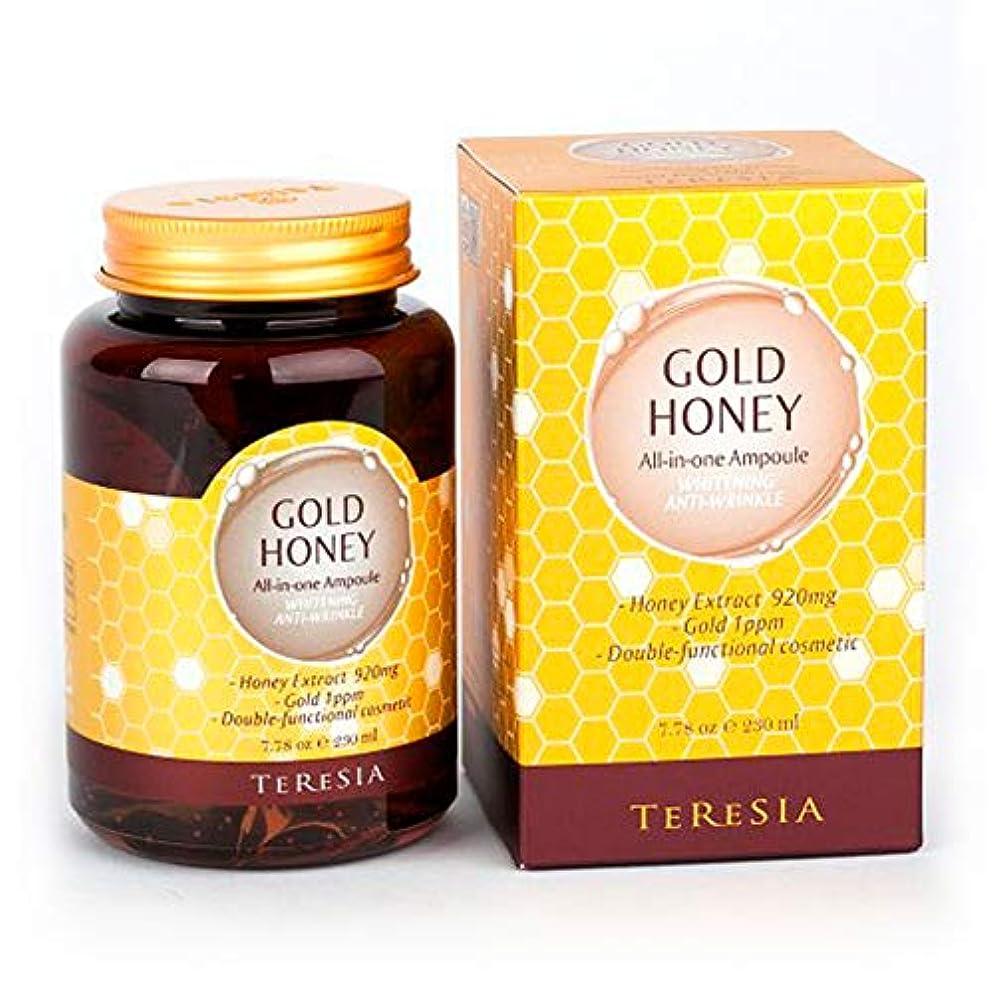 消毒剤適格等しい[(テルシア)TERESIA] テルシア·ゴールドハニー大容量 230ml オールインワン·アンプル シワ,美白二重機能性化粧品