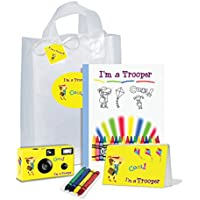 I ' m a Trooper–イエローfor Girl–ギフトバッグ–Full Of Goodies。Be Brave。Be Strong。pkg117