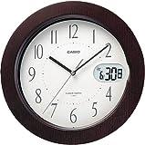 カシオ アナログ電波掛時計 日付表示付 IC-800J-5JF