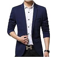 [グリーンティー] テーラード ジャケット 紳士 ビジネス オフィス イギリス風 カジュアル スリム 細身 メンズ