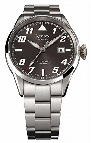 [ケンテックス]Kentex 腕時計 SKYMAN(スカイマン) パイロット 自動巻き 10気圧防水 S688X-14 メンズ