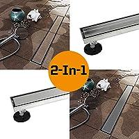 KDrain 直線シャワー排水口 24 Inch KD-ZA3-T02-600