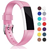 For Fitbit Alta HR and Alta Bands, Hotodeal Soft Accessory Replacement Strap Wristbands with Metal Buckle Clasp for Fitbit Alta/ Alta HR Smart Fitness Tracker