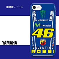iPhone 5 / 5S / 5SE / 6 / 6S / 6Plus / 6S Plus / 7/7 Plus 用 ハードカバー/ケース / バイク/yamaha / かっこいい/monster / 46 / rossi (iPhone5)
