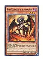 遊戯王 英語版 AP07-EN007 Scarm, Malebranche of the Burning Abyss 日本未発売 (スーパーレア)