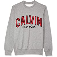 Calvin Klein Jeans Men's Graphic Crew Neck Sweatshirt