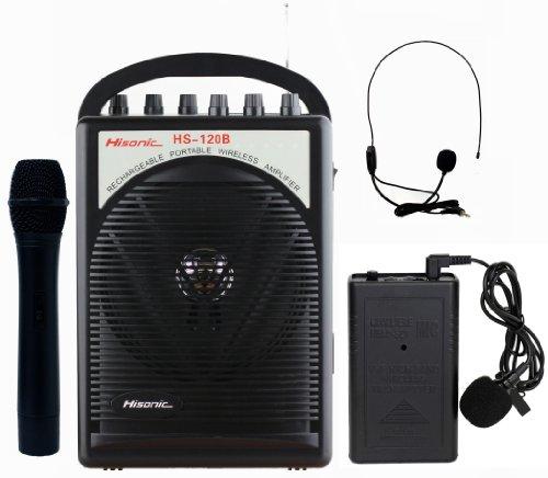 HS120B ポータブルPAシステム/ワイヤレスマイク Hi...