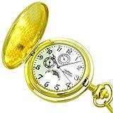 MONTRES モントレス ムーンフェイス搭載 ポケットウォッチ 懐中時計 ゴールド MS-933-GD/アラビア