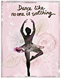 Dance Like No One Is Watching: Ballet Notebook (Composition Book Journal) (8.5 x 11 Large) Dance Gifts (110 Pages)