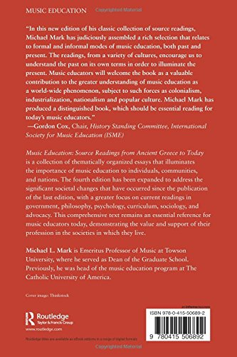 philosophy of music education in the The phd in music education at illinois emphasizes professional preparation for careers as music teacher educators, researchers, and leaders in the field.