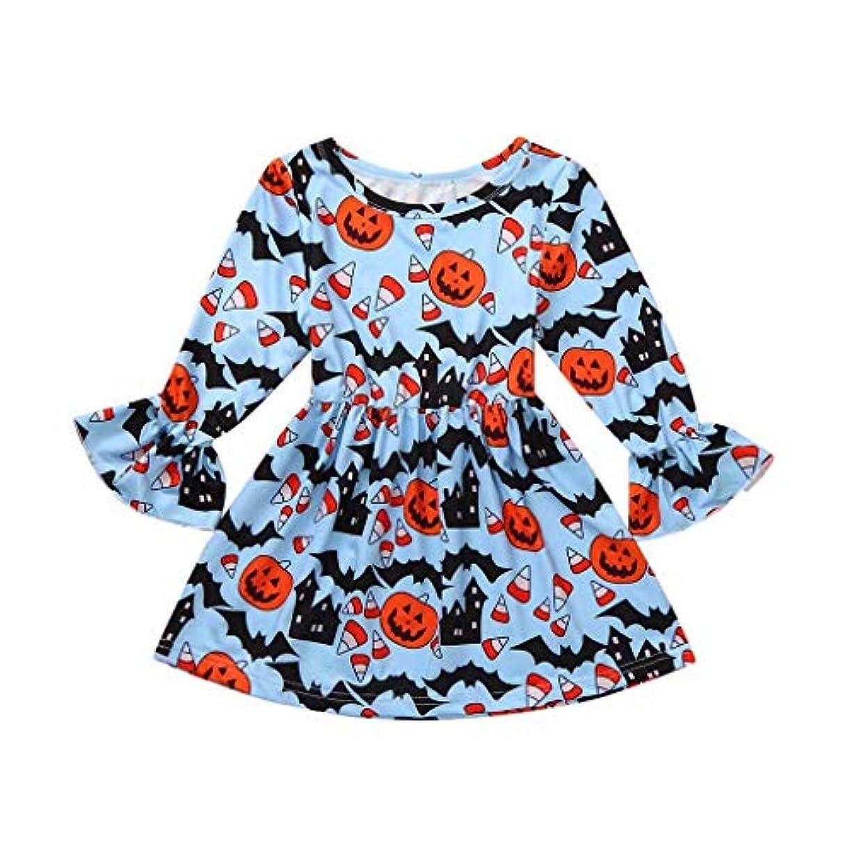 確執個人的に剃るMISFIY 新生児 ベビー服 ガールズ 女の子 子供 漫画柄 ドレス プリンセススカート 綿 肌着 ハロウィン Halloween ブルー かわいい 柔らかい 誕生記念 出産祝い