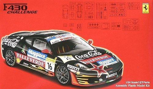 1/24 リアルスポーツカーシリーズSPOT フェラーリF430チャレンジTeamCDP VALLELUNGA 2007