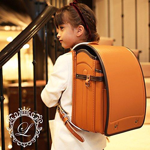 LOWYA (ロウヤ) ランドセル 男子 女子 日本製 6年間保証 カザマランドセル A4対応 アンティーク調金具 クラシカルキャメル 入学祝い 新入学 新生活