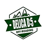 OFF ROADING DELICA D5 デリカD5 カッティング ステッカー ダークグリーン 深緑