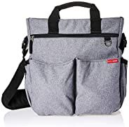 Skip Hop Duo Signature Diaper Bag, Heather Grey