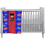 Superhero Custom Crib Comforter / Quilt by Baby Milano