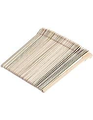 Healifty ワックスヘラ使い捨てワックススティック500本(オリジナル木製)