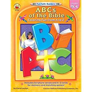 Abcs of the Bible Coloring Book: Coloring Fun from a to Z (Fun Faith-Builders)
